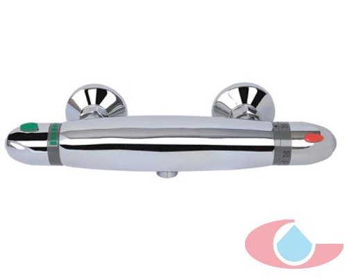 Mezclador Termostático ducha Iris , con equipo Ducha cromo 50122