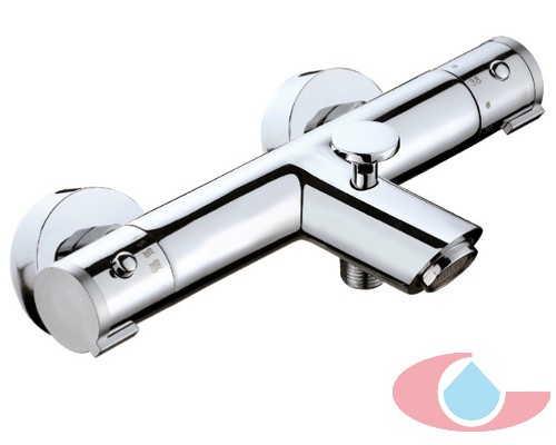 Mezclador Termostáticos baño Iris con equipo d ducha cromo 50009