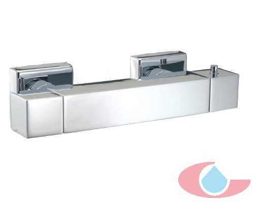 Mezclador termost tico ducha mir con equipo ducha cromo for Mezclador ducha