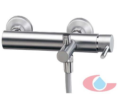 Monomando ba o con equipo ducha cromo grizasa for Monomando para ducha
