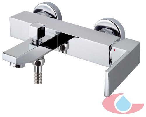 Monomando baño con equipo ducha Tizziano 80000- columna monomando baño-29