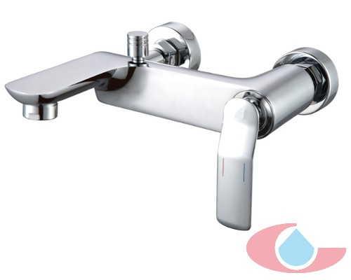 Monomando baño con equipo ducha Verona cromo 10060