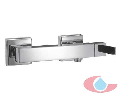 Monomando ducha con equipo de ducha Sorolla cromo 10052