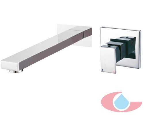 Monomando lavabo de empotrarTizziano Cromo 80006