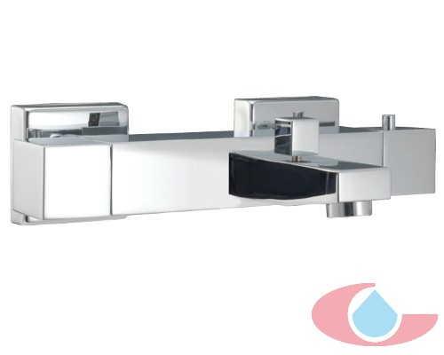 Mezcladro termostático baño con equipo de ducha Arba cromo 60009
