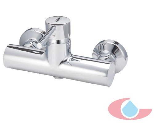 Monomando ducha con equipo ducha ibòn cromo 10032