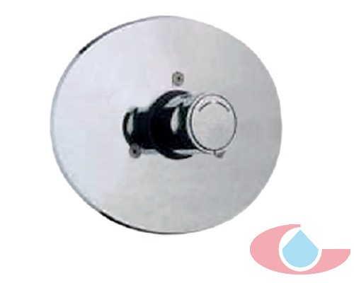 ducha mezclador de empotrar temporizado cromo 40134