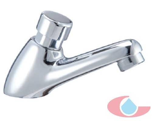grifo lavabo temporizado preregulado cromo 40100