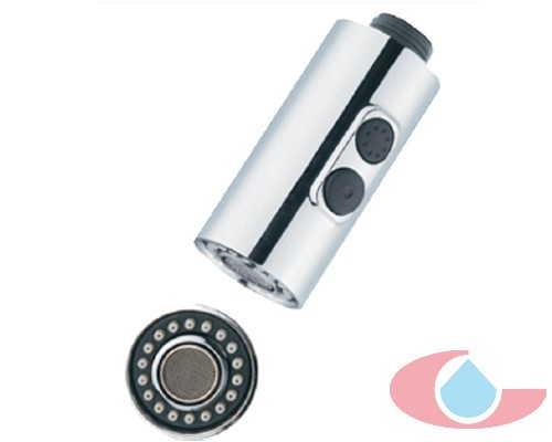 ducha cocina dos posiciones , minimalista cromo 5549