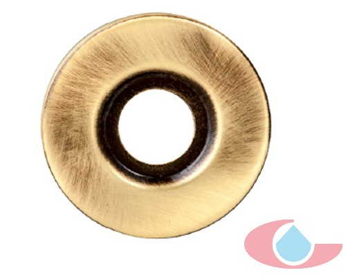 plafón plano latón bronce 5509