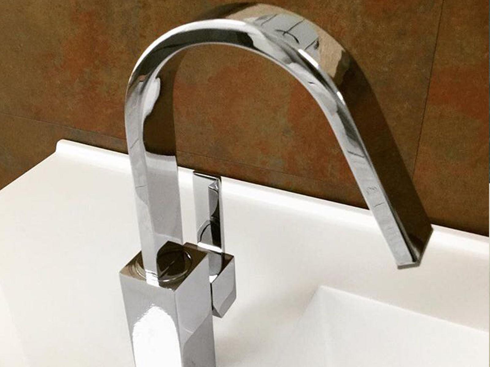 Monomando lavabo Matisse , cromo.