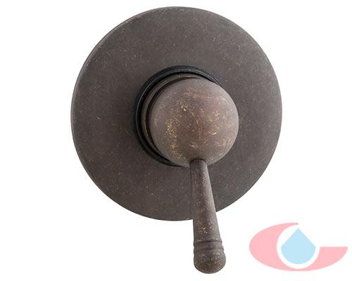 Monomando-ducha-empotrar-lanuza-Bronce-veneciano