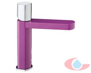 Monomando-lavabo-oval