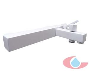 Monomando baño Gaudi Blanco