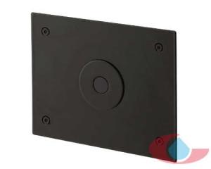 grifo urinario electronico empotrado negro