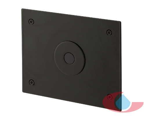Grifo urinario electronico empotrado negro grizasa for Grifos rusticos baratos