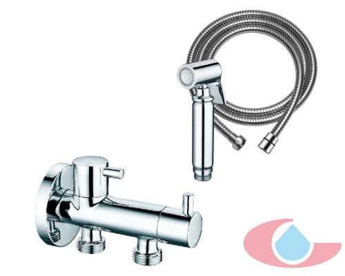 limpiador higienico 2 llaves , 1 agua