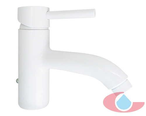 monomando lavabo broto blanco