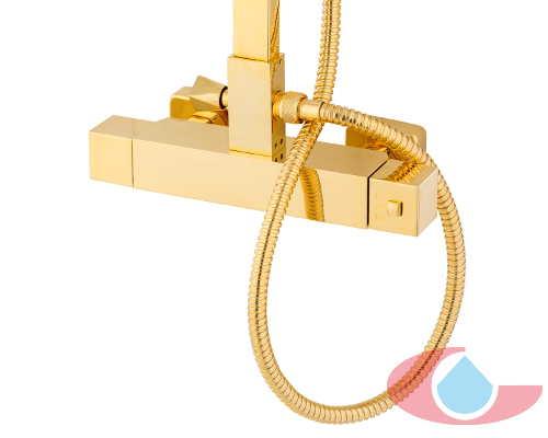 detalle termostatica oro brillo