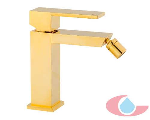 monomando lavabo tizziano oro brillo