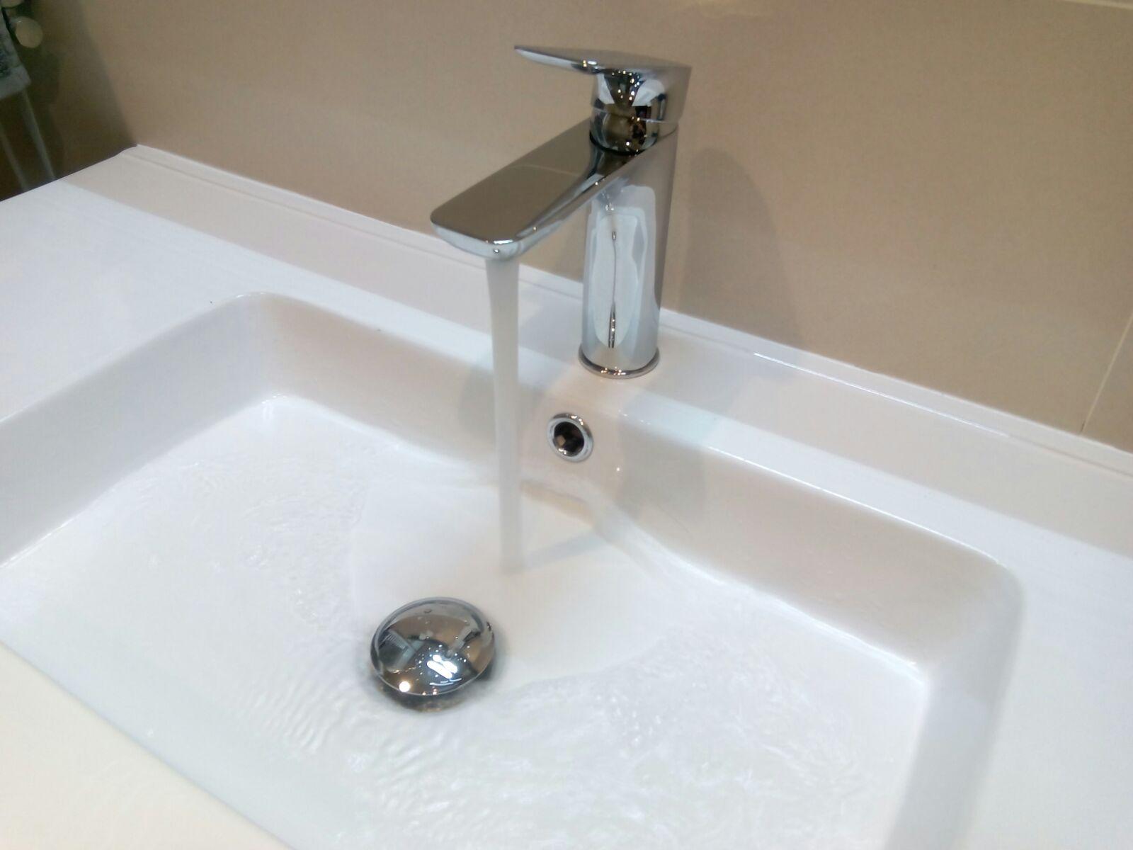Monomando lavabo Moncayo , cromo.