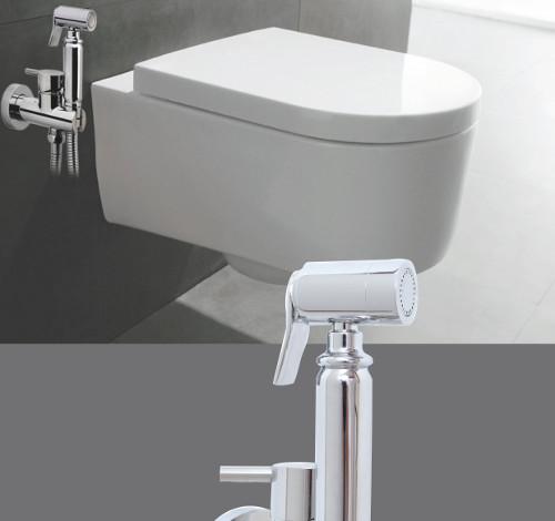 grifos sustitutivos bidet - Ducha higienica para WC