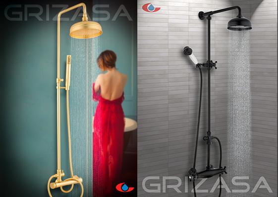 Columnas de ducha Grizasa