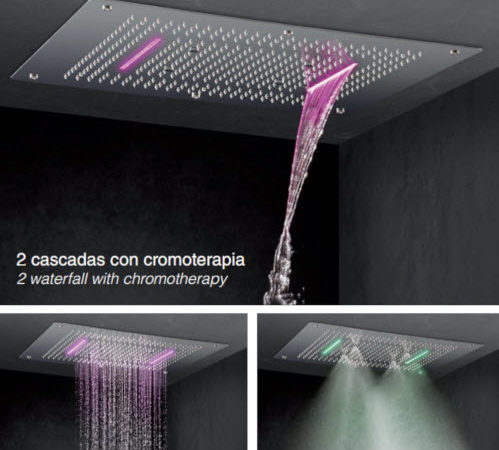 rociador de ducha de techo